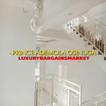 Prince Ademola Investment Offers! Newly Built 5 Bedroom Semi-detached!, Off Alfred Rewane, Old Ikoyi, Ikoyi, Lagos, Semi-detached Duplex for Sale