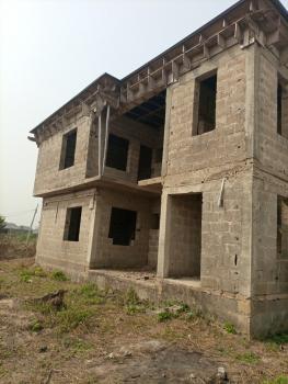 Beautifully Built 4 Units of 3 Bedroom Flat, Valley View Estate, Ebute, Ikorodu, Lagos, Block of Flats for Sale