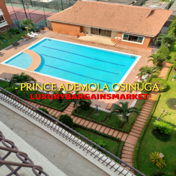 V.v.i.p. Massive 2 Bedroom Penthouse Apartment, Old Ikoyi, Ikoyi, Lagos, Flat / Apartment for Rent