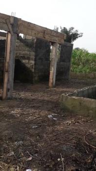 4 Bedroom at Lintel Level and Foundation of Room & Parlor on 1 Plot, Imoshe Town, Ado-odo/ota, Ogun, Block of Flats for Sale