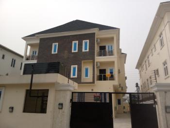 Newly Built 2 Bedroom Flat with Fitted Ac, Osapa, Lekki, Lagos, Flat for Rent