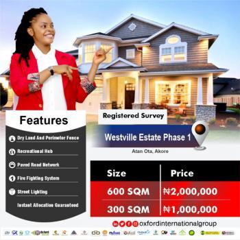 Westville Estate Phase 1, Atan Ota, Ado-odo/ota, Ogun, Residential Land for Sale