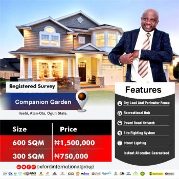 Companion Garden, Atan Ota, Ado-odo/ota, Ogun, Residential Land for Sale