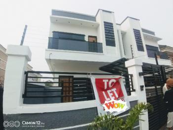 Brand New Four Bedroom Semi Detached Duplex with Bq, Lekki Phase 2, Lekki, Lagos, Detached Duplex for Rent