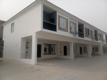 Newly Built 4 Bedroom Terrace Duplex with Swimming Pool and Gym House, 2nd Toll Gate, Lekki, Lagos, Terraced Duplex for Rent