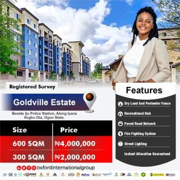 Land, Goldville Estate, Atan Ota, Ado-odo/ota, Ogun, Residential Land for Sale