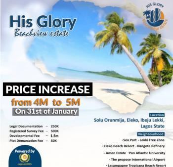 Land at His Glory Beach View, Solu Orunmija, Neighborhood with Lekki Free Trade Zone, Ibeju Lekki, Lagos, Mixed-use Land for Sale