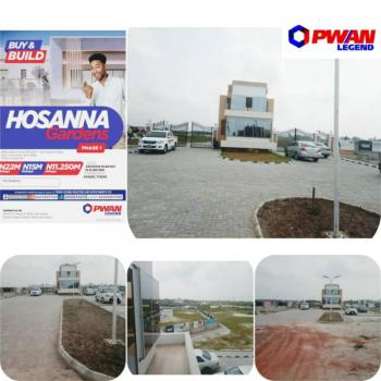 Estate Fenced and Gated Dry Lands, Hosanna Gardens Estate, Directly Facing Eleko Express, Eleko, Ibeju Lekki, Lagos, Mixed-use Land for Sale