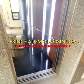 Cheap Medium 4 Bedrooms Penthouse + Private Elevator, 2nd Avenue Estate, Ikoyi, Lagos, Flat for Rent