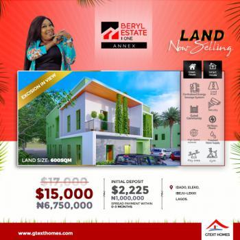 Luxury Land Space, Beryl Estate, Eleko, Ibeju Lekki, Lagos, Industrial Land for Sale