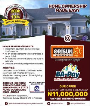 2 Bedroom Semidetached Bungalow, Akinyele, Ibadan, Oyo, Semi-detached Bungalow for Sale