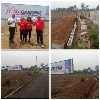 Affordable Plots of Land, Max Gardens Igboetche By Eleme Junction Chokocho Town, Etche, Eleme, Rivers, Residential Land for Sale