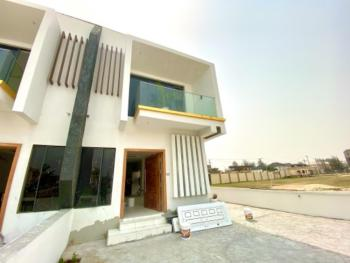 Spacious 4 Bedroom Semi-detached Duplex with a Bq and Swimming Pool, Off Orchid Road, Lekki, Lagos, Semi-detached Duplex for Sale