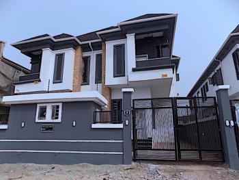 New House Large Compound 4 Bedroom Semi Detached Duplex with Bq, Ikota Villa Estate, Ikota, Lekki, Lagos, Semi-detached Duplex for Sale