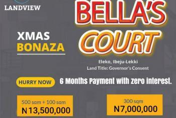 Land with Governors Consent, Near Eleko Beach Road and Pan Atlantic University, Eleko, Ibeju Lekki, Lagos, Residential Land for Sale