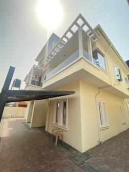 Luxury Finished 5 Bedroom Fully Detached Duplex with a Room Bq, Chevron, Lekki, Lagos, Detached Duplex for Sale