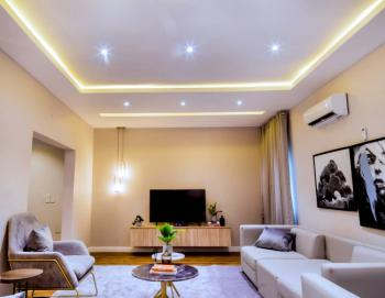 Luxury 4 Bedroom Apartment with Free Internet and Netflix, Ikate, Lekki, Lagos, Terraced Duplex Short Let