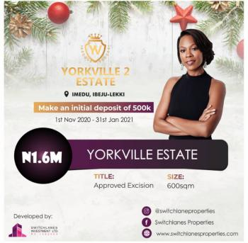 Land in a Well Developed Area, Close to The La Campaign Tropicana Beach Resort, Ibeju Lekki, Lagos, Residential Land for Sale