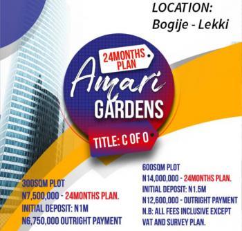 Amari Gardens, Close to The Lekki Express Way, Bogije, Ibeju Lekki, Lagos, Residential Land for Sale