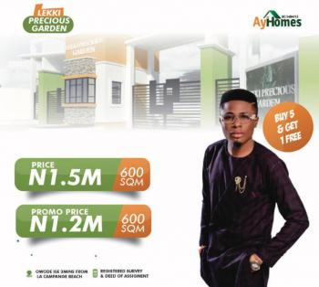 Lekki Precious Garden, Owode Ise, Ibeju Lekki, Lagos, Residential Land for Sale