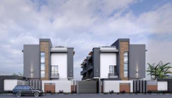 Contemporary Built 5 Bedroom Duplex with Rooftop Verandah/penthouse, Along Meadow Hall Road, Lekki Phase 1, Lekki, Lagos, Terraced Duplex for Sale