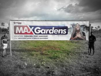 Land, Max Gardens, Omagwa, Port Harcourt, Rivers, Mixed-use Land for Sale