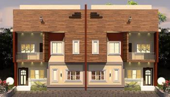 4 Bedroom Semi Detached Duplex- Superb Deal, Close Notre Dame School After The Military Checkpoint Kuchiako, Kuje, Abuja, Semi-detached Duplex for Sale