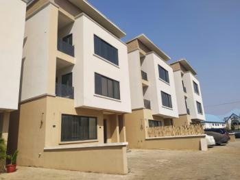 Beautiful 4 Bedroom Terraced Duplex in a Serene Location, Life Camp, Abuja, Terraced Duplex for Rent