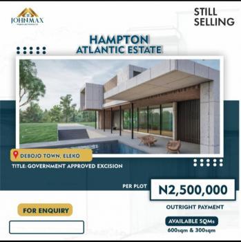 Prime Plot of Land in Good Location, Eleko, Ibeju Lekki, Lagos, Residential Land for Sale