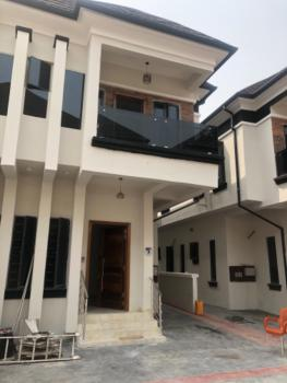 Extraordinarily Built 4 Bedroom Semi-detached with a Room Bq, Immediately After Lekki 2nd Tollagate, Before Mega Chicken Plaza, Ikota, Lekki, Lagos, Semi-detached Duplex for Sale