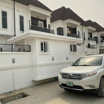 Nicely Built 4 Bedroom Semi Detached Duplex with Bq, Osapa, Lekki, Lagos, Semi-detached Duplex for Sale