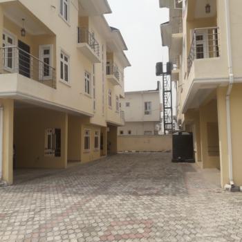 Solidly Built 4bedroom Semi-detached House with Bq, Eletu Way, Osapa, Lekki, Lagos, Semi-detached Duplex for Sale