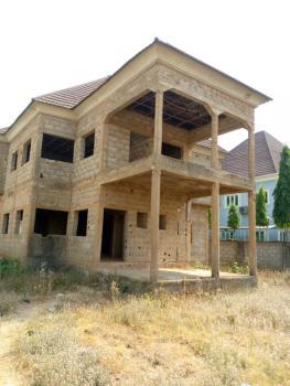 700sqm, 4 Bedroom Fully Detatched Duplex Carcass Estate Building, Basic Estate After Efab Estate, Lokogoma District, Abuja, Detached Duplex for Sale