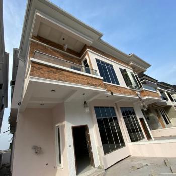 Spacious 4bedroom with Bq., Chevron Drive, Lekki Phase 1, Lekki, Lagos, Semi-detached Duplex for Sale