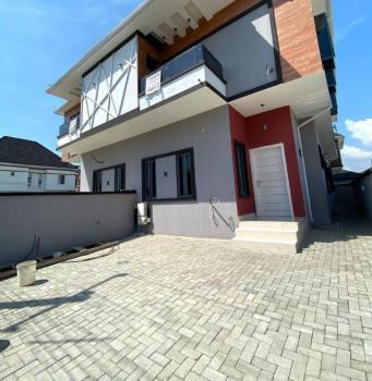 Brand New 4 Bedroom Semi Detached  with 2 Living Living Room, for Sale: Brand New 4bedroom , in Osapa London with Bullet Proof Door, Osapa, Lekki, Lagos, Semi-detached Duplex for Sale