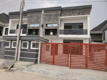 Newly Built Spacious 4 Bedroom Duplex with a Room Bq, Ikota Villa Estate, Ikota, Lekki, Lagos, House for Sale