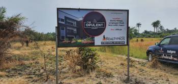 Affordable Plot of Estate Land in Good Location, The Opulent Court, Igbogun Road By Lekki Free Trade Zone Road, Akodo Ise, Ibeju Lekki, Lagos, Residential Land for Sale