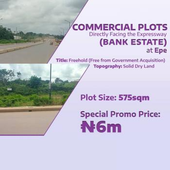 Commercial Plots of Land in Very Good Location, Epe, Lagos, Commercial Land for Sale