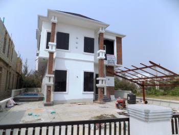 New House 5 Bedroom Fully Detached Duplex+bq, Cinema Room, Swimming Pool, 2nd Toll Gate, Lekki, Lagos, Detached Duplex for Sale