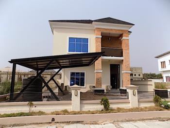 New House Big Compound Space 5 Bedroom Fully Detached Duplex with Bq, Ikota Villa Estate, Ikota, Lekki, Lagos, Detached Duplex for Sale