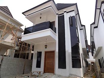 New House, Swimming Pool, 5 Bedroom Fully Detached Duplex + 24hrspower, Chevron, Lekki, Lagos, Detached Duplex for Sale