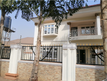 Newly Built 4-bedroom Semi-detached with Very Large Rooms in an Estate, Apo, Abuja, Semi-detached Duplex for Sale