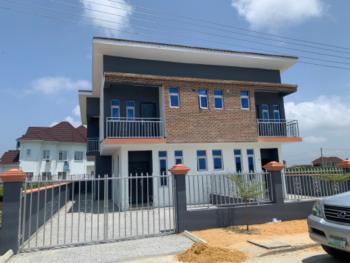Exclusive Luxury 3 Bedroom Semi Detached Duplex with Spacious Compound, Sangotedo, Ajah, Lagos, Semi-detached Duplex for Sale