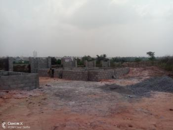 2 Bedroom Detached Bungalow Carcass at Treasure Hilltop Estate, Ikola Command By D and D School, Alagbado, Ifako-ijaiye, Lagos, Detached Bungalow for Sale