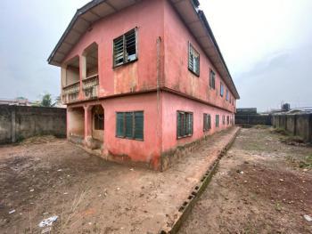 One Storey Building on a Full Plot at Negotiable Price, Close to Ahmadiyya General Hospital, Off Lagos-abeokuta Expressway, Alagbado, Ifako-ijaiye, Lagos, Terraced Duplex for Sale