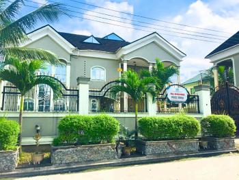 5 Bedroom Mansion in a Gated Estate with a Gym, Library and Cctv, Peter Odili Road, Trans Amadi, Port Harcourt, Rivers, Detached Duplex for Rent