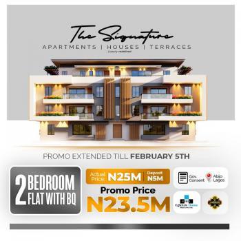 Luxury 2 Bedroom Apartment with Bq, Abijo, Abijo, Lekki, Lagos, Terraced Duplex for Sale