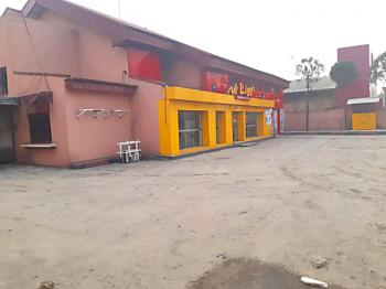 Commercial Space on 2 Floors with 2 Bqs on a Busy Major Road, Aba Road, Rumukrushi, Port Harcourt, Rivers, Restaurant / Bar for Rent