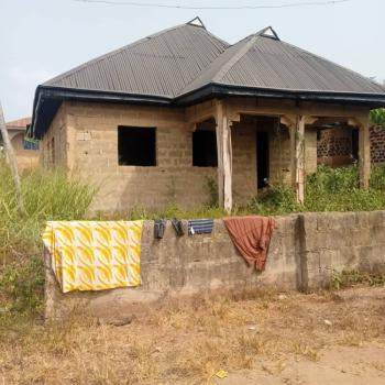 Uncompleted 3 Bedroom Bungalow, Oke Isokun Zone 5, N.t.a Ile-ife, Ife East, Osun, Detached Bungalow for Sale