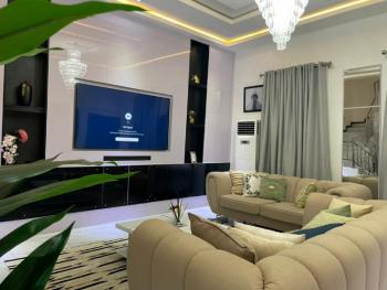 Aesthetically-pleasing 4 Bedroom Duplex, Chevron Drive, Lekki Phase 2, Lekki, Lagos, Semi-detached Duplex Short Let